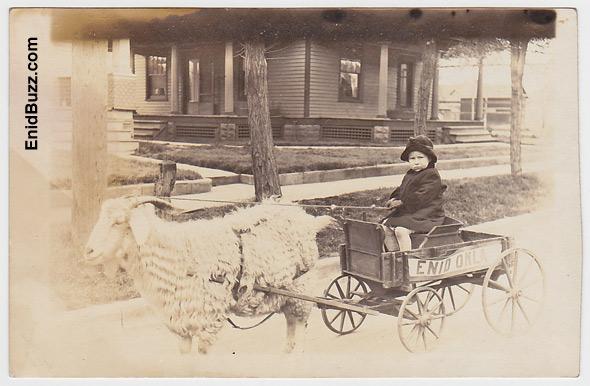 Vintage Enid Photo