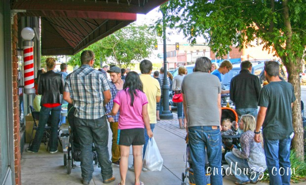 Main Street Enid First Friday Block Party