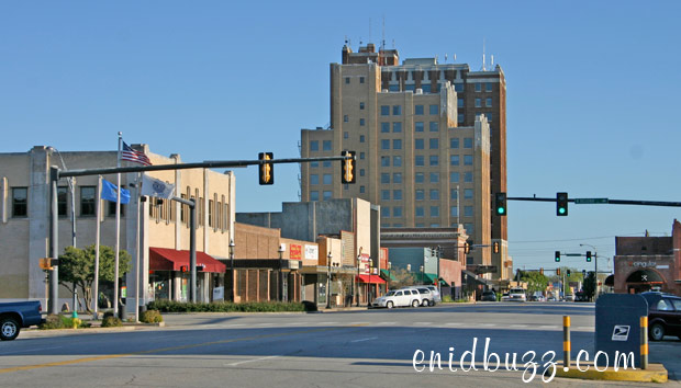 Buildings on Independence - Downtown Enid