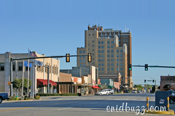 Downtown Enid, Oklahoma