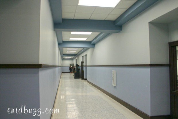 Enid High Hallway 2012