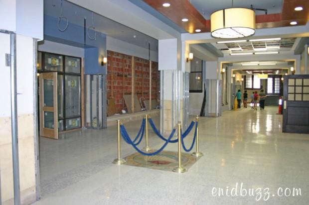 Enid High Main Hallway