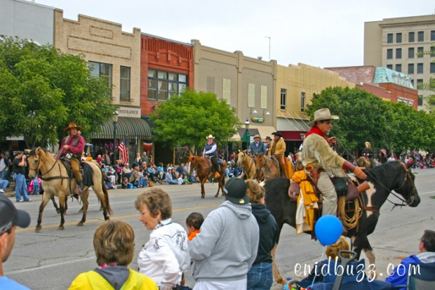 Cherokee Strip Parade Riders