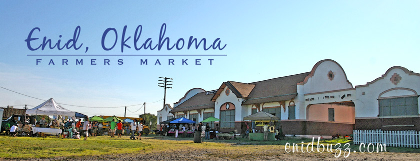 Enid Farmers Market Watercolor
