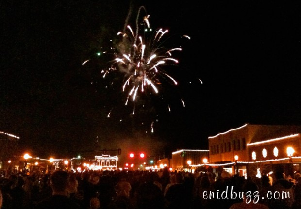 Enid Lights Up The Plains