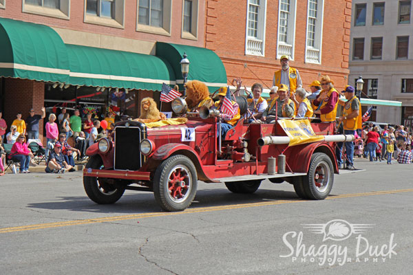 Cherokee Strip Parade in Enid, OK