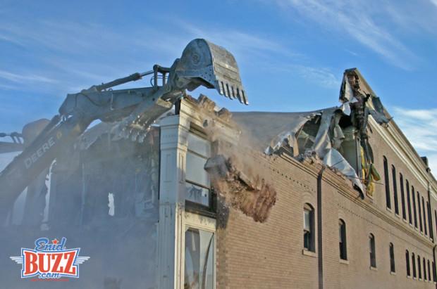 Kress Building Demolition