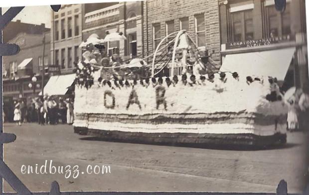 1919 Enid Parade Float
