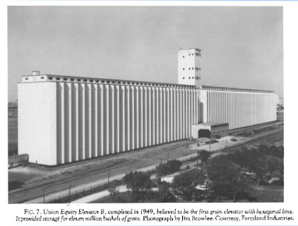 Union Equity elevator B, 1949