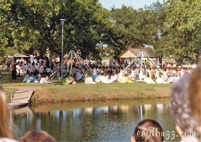 Enid High May Fete 1981