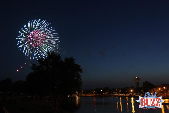 Meadowlake Fireworks Enid