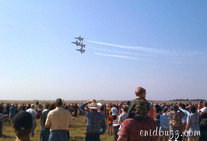 Thunderbirds at Vance in Enid
