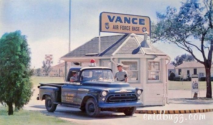 Vance AFB gate
