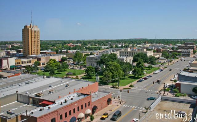 Downtown Enid Oklahoma