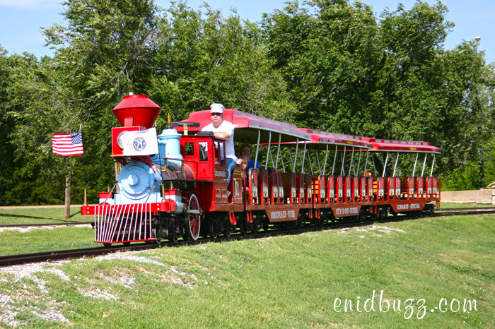 Kiwanis Train in Enid, Oklahoma