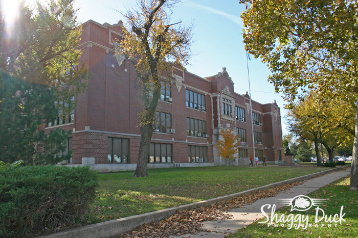 Enid High School Building