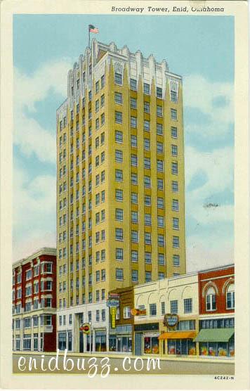 Vintage Broadway Tower in Enid