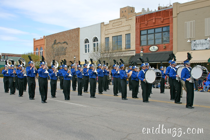 Enid High Band in Tri-State