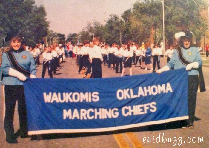 Waukomis in Tri-State Parade