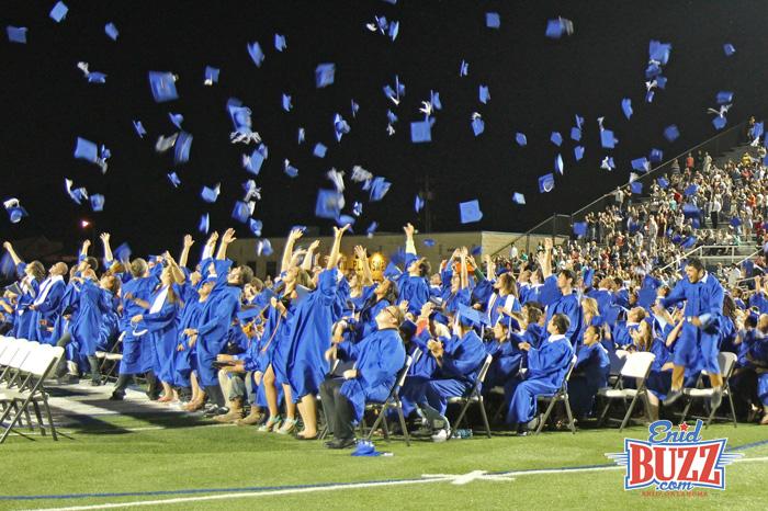 Enid High Graduates