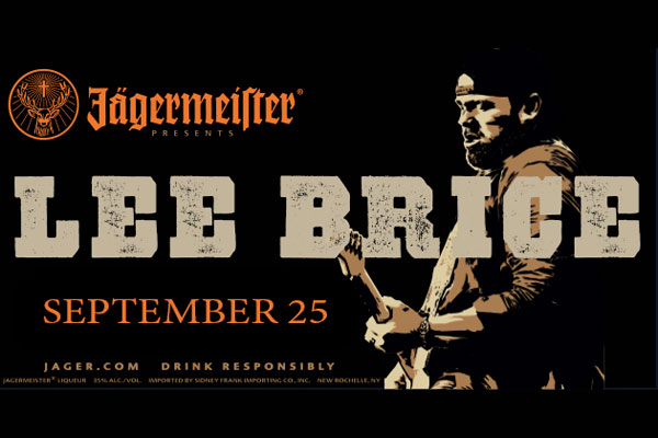 Lee Brice Tickets On Sale Friday At 10am