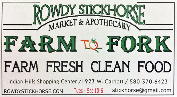 Rowdy Stickhorse Organic Food