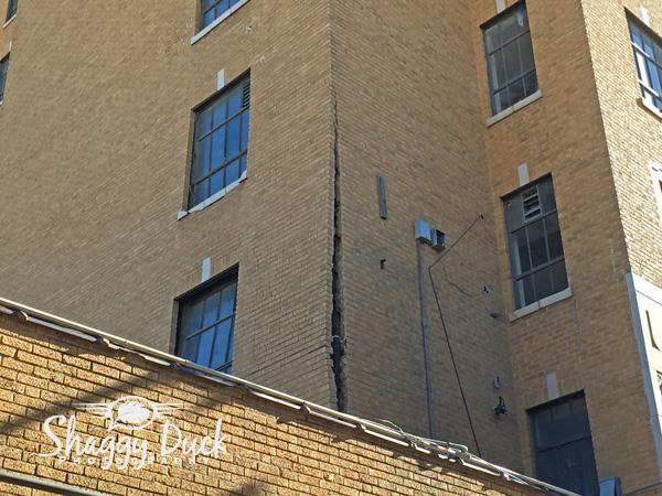 Broadway Tower Crack Enid