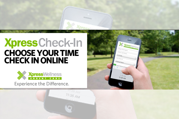 Xpress Wellness Urgent Care Announces Xpress Check-In