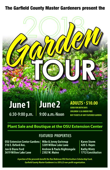 2018 Master Gardeners Tour