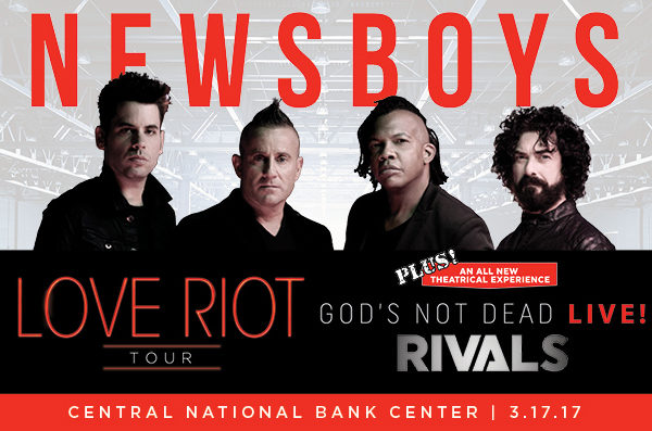 "Newsboys Brings ""Love Riot"" Tour To Enid"