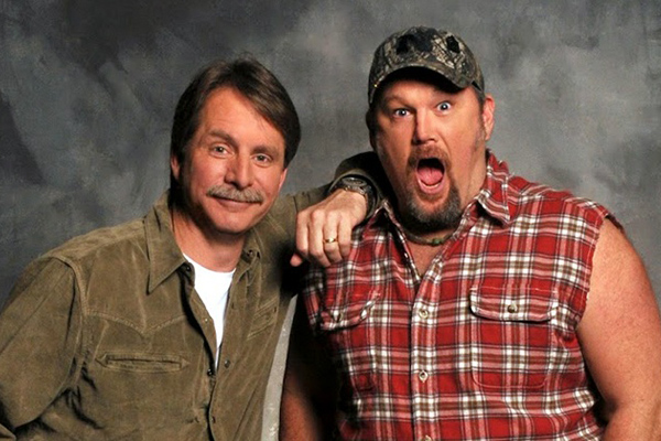 Jeff Foxworthy & Larry the Cable Guy Bringing Laughs To Enid