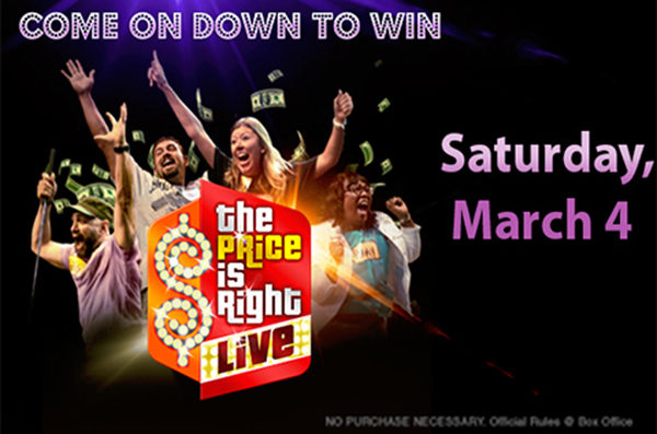 The Price is Right Live™ is coming to CNB Center