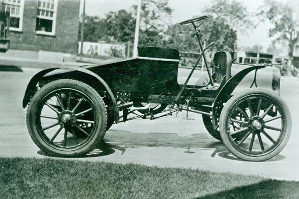 Enid's First Automobile