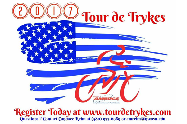 Register Online For Tour de Trykes By Aug. 14