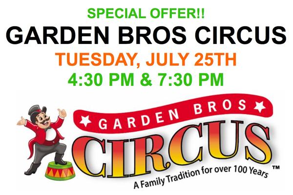 All New Garden Bros Circus Coming To Enid