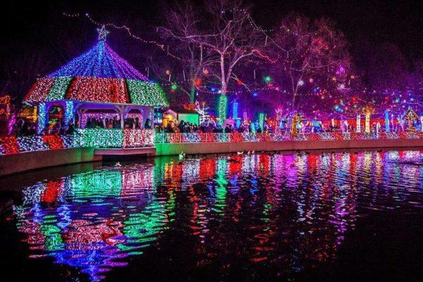 10 MUST SEE Christmas Light Displays in Oklahoma