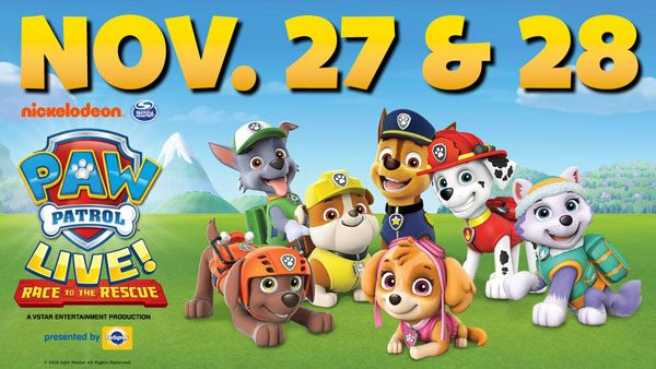 PAW Patrol Live! Takes Center Stage in Enid